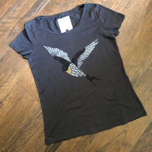 Armedangels Gray Bird Organic Tee